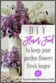 diy flower food