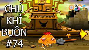 Game Chú khỉ buồn 74 | Chu khi buon tim pha le - Game24H.VN