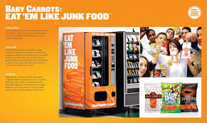 Vending Machine Brochure Impressive Baby Carrots VENDING MACHINE Promo PR Ad By Crispin Porter