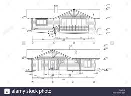 Architectural design blueprint Floor Plan Architectural Blueprints Project Of New Residential House Stock Image Creative Market Architectural Design Blueprint Cut Out Stock Images Pictures