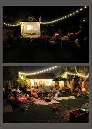 Backyard Movie Projector  Outdoor GoodsMovie Backyard