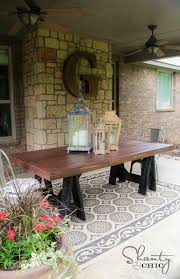 easy diy outdoor dining table. diy outdoor dining table easy diy -