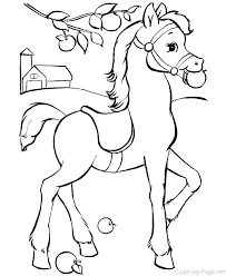Horse Coloring Pages To Print For Horses Color Page Printable
