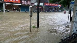 說明:臺北市淹水模擬 淹水深度:0.0~0.3 公尺 淹水深度:0.3~1.0 公尺 淹水深度:1.0~3.0 公尺 淹水深度:>3.0 公尺 近五年淹水調查位置(點) 說明 北市 淹水地圖 難推柯p憂影響房價 好房網news