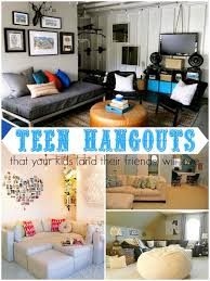 Ten Teen Hangout Areas Your Kids And Their Friends Will Love Via Remodelaholic