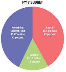 Budgeting Pie Chart Milton Budget Piechart The Milton Independent Online