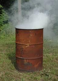 Image result for trash burning