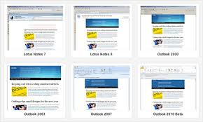 Email Templates In Outlook 2010 Getting Ready For Outlook 2010 Campaign Monitor