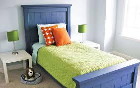 farmhouse bed twin size ana white