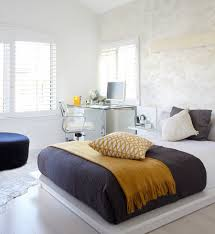 Small Bedroom For Women Small Bedroom Decorating Ideas With Glass Table Computer Desk