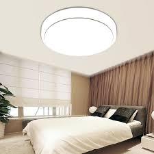 energy saving led ceiling light lighting round flush mount fixture bedroom 18w 669818196093