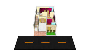 Small Picture 3D House Floor Plan DG Khan Pakistan 29 x 46 5 Marla