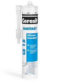 Санитарный <b>силиконовый герметик Ceresit CS</b> 15 | Металлпласт ...