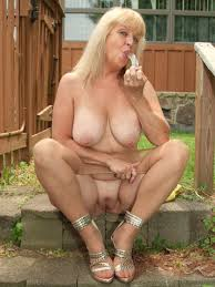 Mature lady outdoor videos