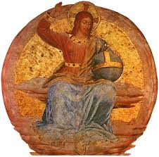 christ the judge artist fra angelico style early renaissance genre