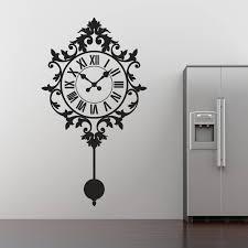 Small Picture sticker wall clock photo Wall Clocks