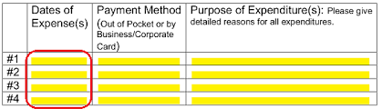 Free Employee Reimbursement Form Pdf Word Eforms