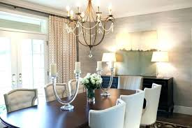 dining rooms with chandeliers image of modern room chandelier height chan
