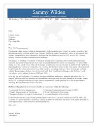 Administrative Cover Letter Example Administrative Cover Letter Example
