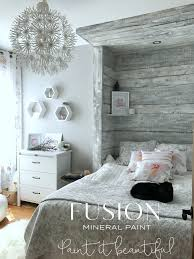 Keswickcountry bedroom paint color schemes designer office Accent How To Paint Barn Board Headboard Feature Wall Ebookerscom Home Fusion Mineral Paint