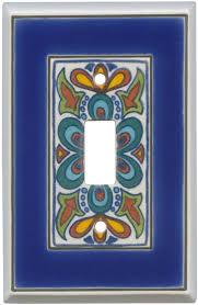 ceramic switch plates. Mediterranean Ceramic Light Switch Plates, Outlet Covers, Wallplates Plates