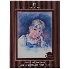 "<b>Папка для акварели Palazzo</b> ""Настя"", 10 листов, формат А4 ..."