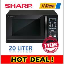 sharp combination microwave. sharp r207ek microwave oven 20l (2017 new model) combination w