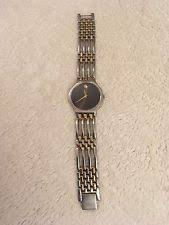 men s authentic swiss movado esperanza 0600451 two 2 tone watch men s classic movado esperanza black dial 2 tone gold swiss quartz watch