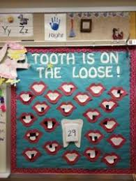 Lost Tooth Chart For Classroom Good Idea For Teaching