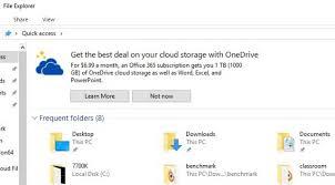 Windows 10 Explorer Microsoft Now Puts Ads In Windows 10 File Explorer Because Of