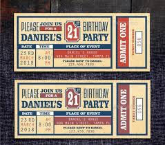 Concert Ticket Invitations Template Classy Ticket Invitation Template 48 Free PSD Vector EPS AI Format