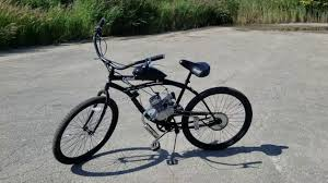 gas powered bike motorized bicycle dewey lose your license got a dui get this