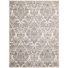 safavieh porcello grey ivory 8 ft x 11 ft area rug