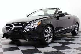 black bmw convertible 2014. 2014 mercedesbenz eclass certified e350 sport package convertible navigation 13541118 black bmw convertible