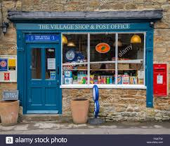 office the shop. The Village Shop And Post Office, Pilsley, Derbyshire - Stock Image Office