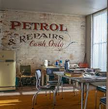 Home Decor Ideas With Typography   Vintage Ghost Signs And Advertising    Industrial Interior Design