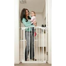 Dream Baby Extra Tall Swing Close Security Gate Combo (Black)