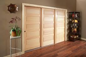 door slider hardware sliding track triple closet 3 panel barn frosted glass three