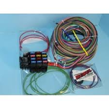 wire v w bus deluxe wiring harness atv winch wire size at 12 Volt Wiring Harness Kit