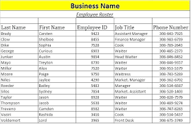 training roster template excel roster template excel employee contact list word training r calendar