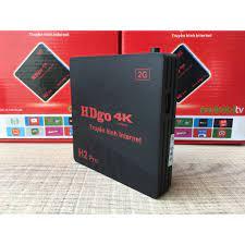 Thiết bị TIVI thông minh Android TV Box HDgo H2 Pro 4K | DNTN Kỹ Thuật Công  Nghệ Dương Long
