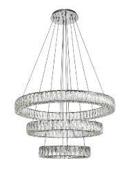 modern crystal chandelier led pendant light china c18005