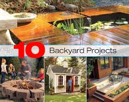 10 backyard project ideas for a great summer