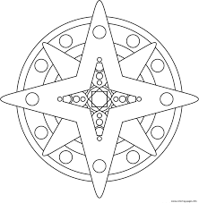 Small Picture star shape mandala s4aab Coloring pages Printable