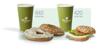 at panera a partly whole grain bagel and cream cheese 520 calories plus a 16 oz caramel latte with no whip or caramel drizzle 320 means 840 calories