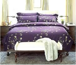dark purple duvet cover pure silk