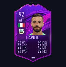 Locatelli il punto fermo di de zerbi. Please Guys Vote For Ciccio Caputo Toty He Deserves It The Card Is Hero Because There Isn T Yet The Toty Card Design On Futbin Fut