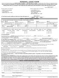 Renewal Lease Form Fill Online Printable Fillable Blank