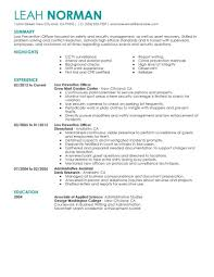 Recovery Officer Sample Resume Recovery Officer Resume Examples Best Loss Prevention Example 42