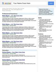 search engine resume template resume search engine